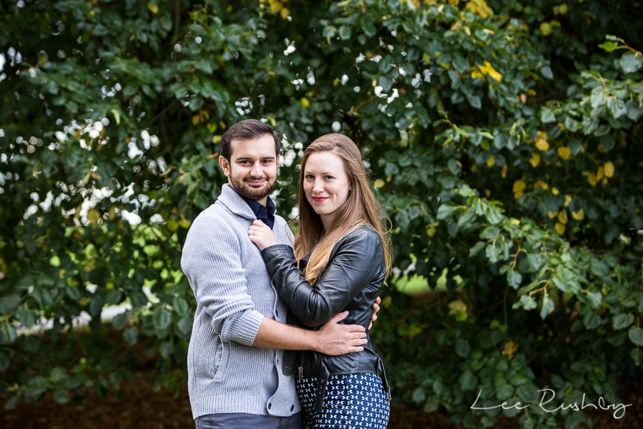 Primrose Hill Engagement Photo