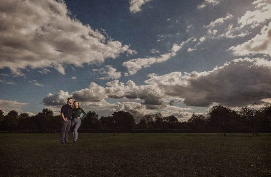 Primrose Hill Engagement Photo
