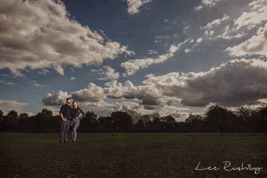 Primrose Hill Engagement Photography