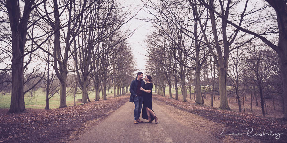 Hatfield House Engagement Photos