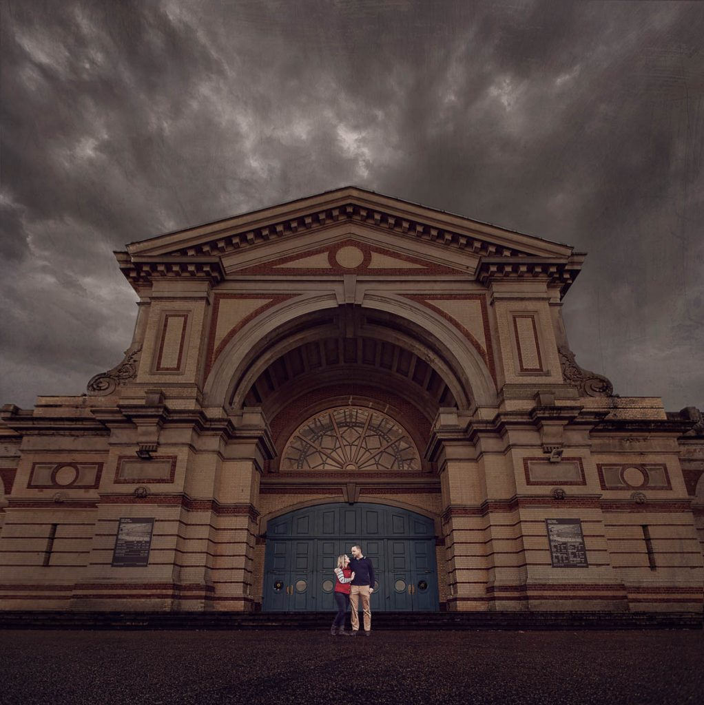 Hertfordshire Wedding Photographer - Dramatic Engagement Photography