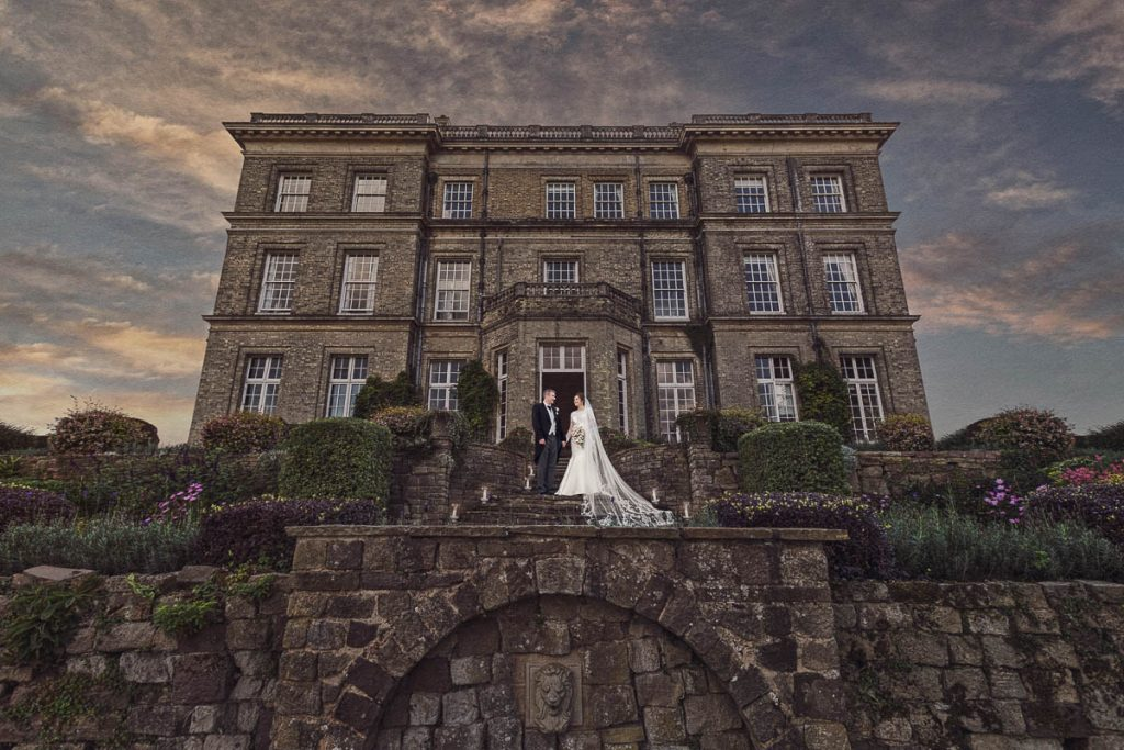 Hertfordshire Wedding Photographer - Dramatic Wedding Photography