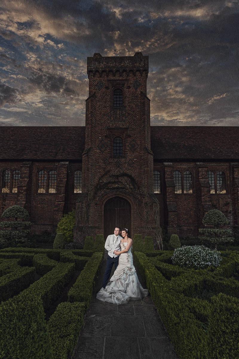 Hertfordshire Wedding Photographer - Dramatic Wedding Photography