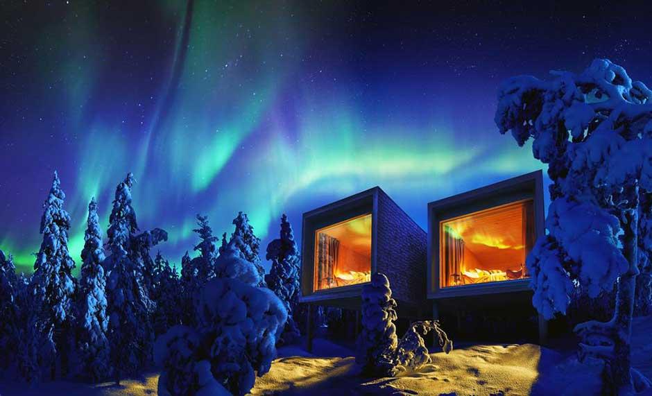 Honeymoon Goals Arctic Treehouse