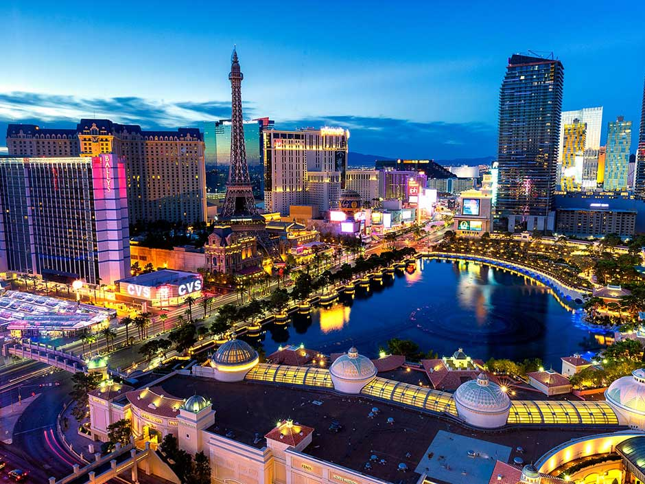 Honeymoon Goals Las Vegas