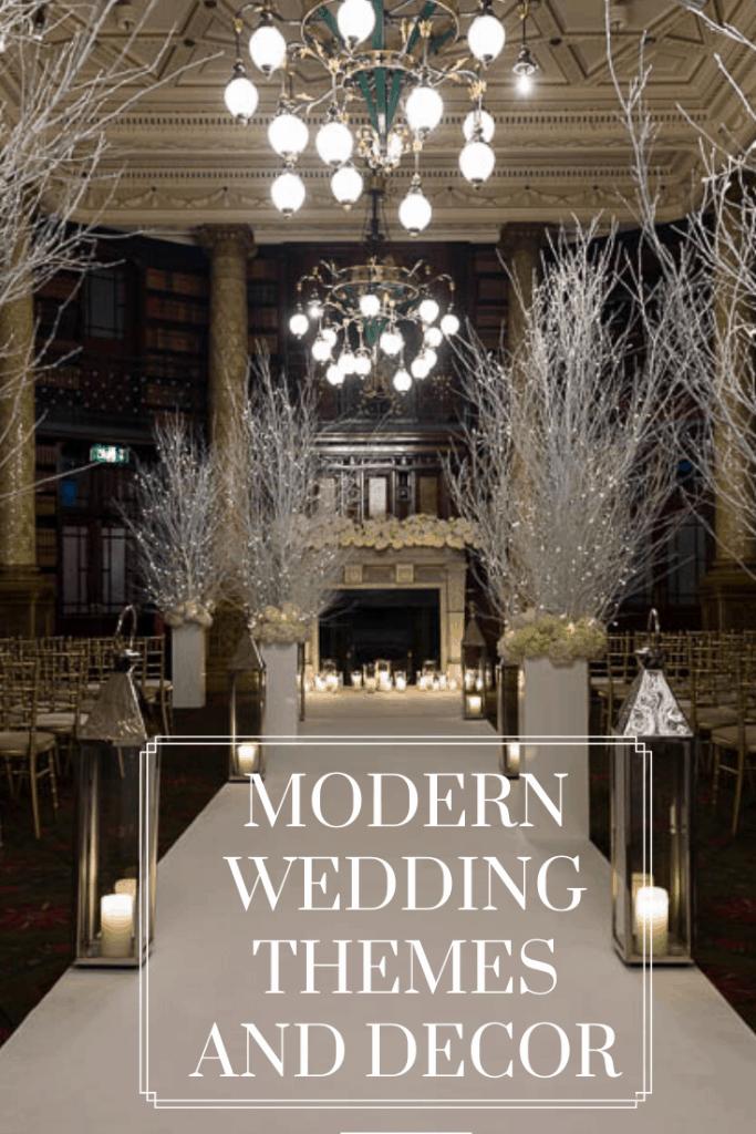 Modern Wedding Themes