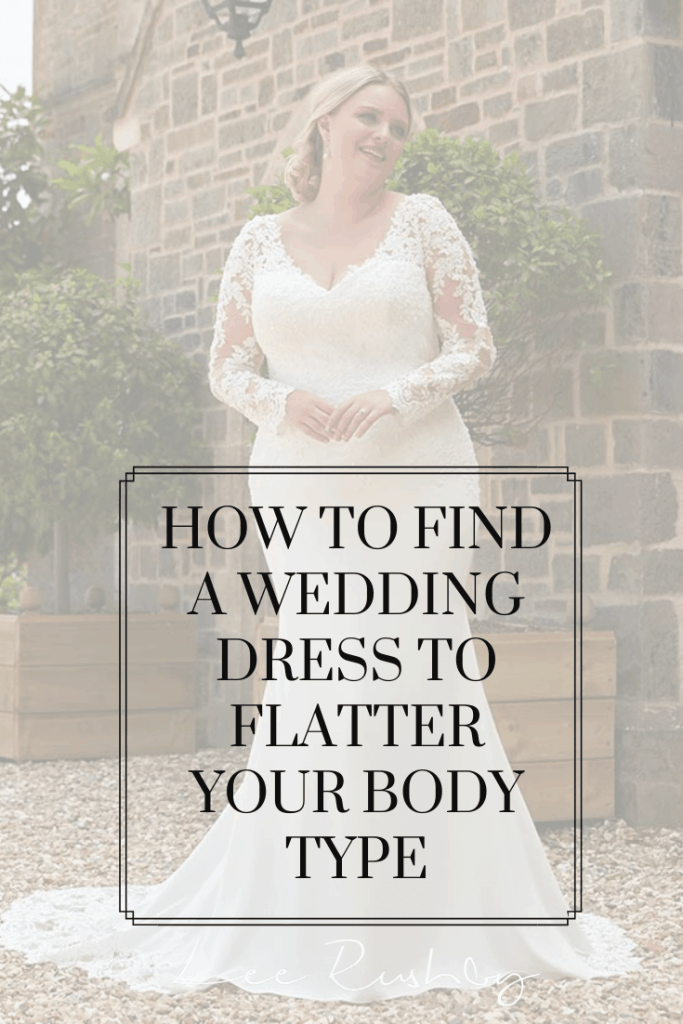 find a wedding dress that flatters your body