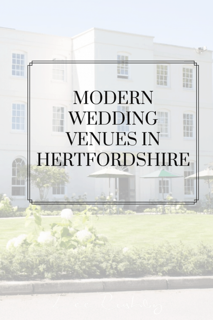 modern wedding venues in hertfordshire